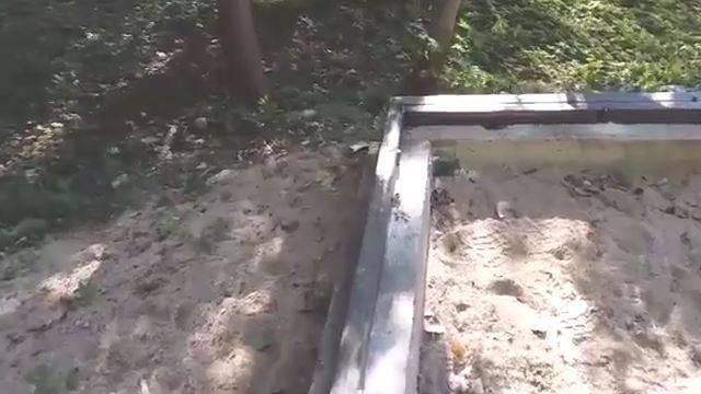 Нижний пояс каркаса