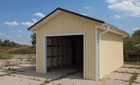 Внешний вид гаража